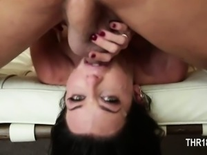 Perfect blowjob with really nasty woman
