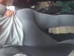 Black milf in white tights  Dat bubble a - Fuck from CHEAT-M