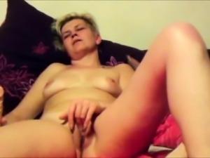 Mature Woman Wants Cock BADLY - Masturbation