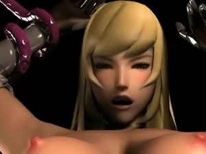 Caught 3d animation tentacles drilled pussy and squeezed her
