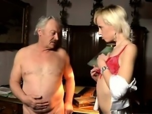 Watch free girl old and young video His present wife is well