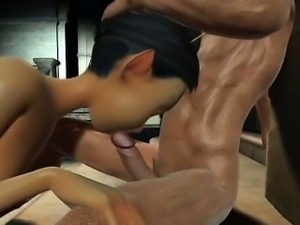 Juicy Wet Fairy - Horny 3D anime sex archive