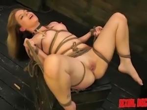 helpless blonde slave gets disgraced
