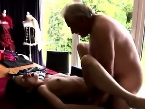 Old and young sex tales He asks if she can fix his raggy old