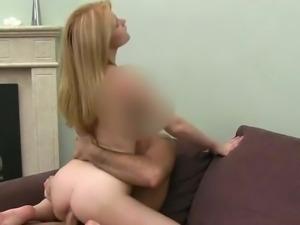 Russian lass in butt casting