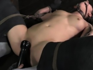 Kitty play session for submissive bitch