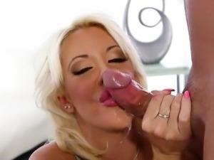 Extreme deepthroat with nasty slut sucking