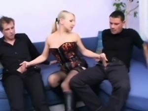 A kinky threesome