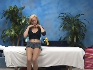 Legal age teenager girlies get fucked well by one fella