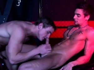 BDSM dominator flogs and fucks submissive in dungeon