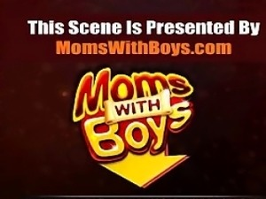 Date her on MILF-MEET.COM - Horny Blonde Stepmom Taking Step