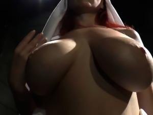 Les femdom fetish fingerfucking until orgasm