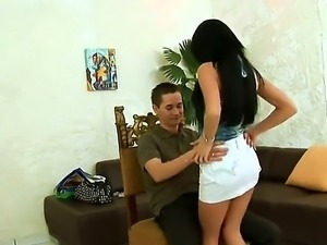 Sexy Suzy Black may be an amateur, but she sure knows how to get a dick hard....