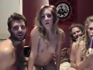 Two Couples Fucking On Camera