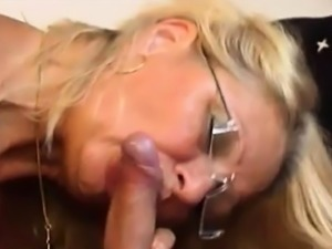 Beautiful granny hungry for fuck and cock