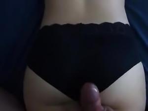 Panty cumshot 04