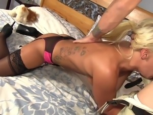 she's at her best with cock in her chest