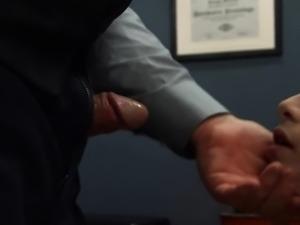 Extreme BDSM chocolatehole action in gangbang