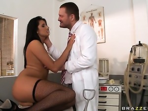 Ian Scott stretches amazingly sexy Melissa Rias cornhole with his sturdy love...