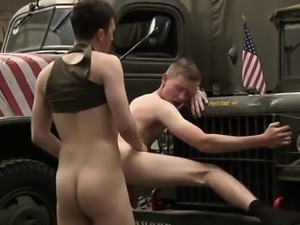Straight tricked gay gloryhole Uniform Twinks Love Cock!