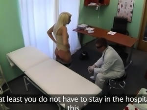 Euro patient pussylicked and fucked