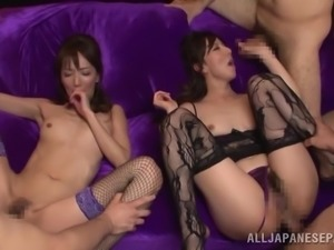 hot couples fuck in orgy