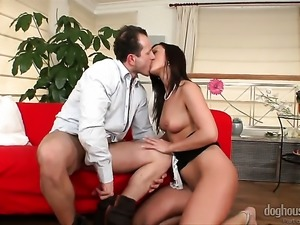 Simone Style just feels intense sexual desire and sucks George Uhls fuck...