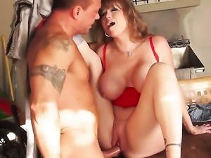Darla Crane is tugging a dick