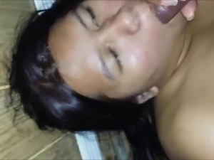 Indian BBW masturbating & sucking
