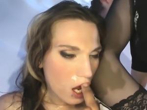 MILF Tina\'s Double Vaginal