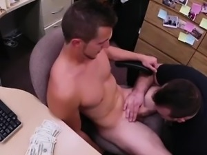 Young straight italian boys tubes gay Guy finishes up with a