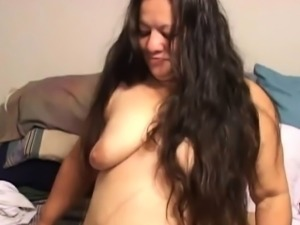 Mexican BBW Granny Gets DP Tag Teamed Anal used