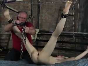 James Lewis shaved and fucked by the master Sebastian Kane