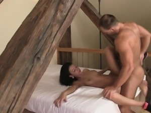 He punishes his wife hard and rough