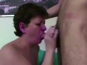 Step-Son Seduce 53yr old Mother to get his First Anal Fuck