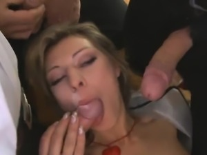 Kristi Lust couldnt wait to fulfill these guys fantasy. ...