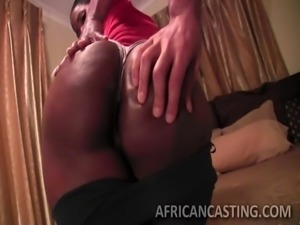 nubian honey with tight body shows off the goods