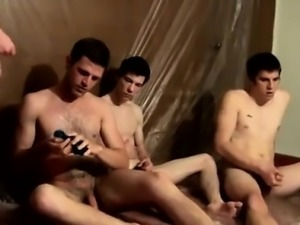 German gay twink Piss Loving Welsey And The Boys