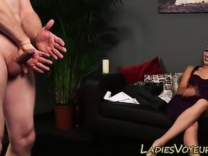 Hot domina mocks pervert