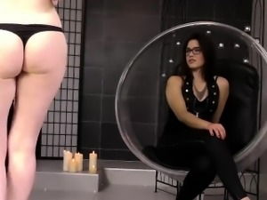 Wicked lesbian piss sex with kinky redehead Dusty