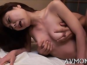 Finger fucking oriental whore mama