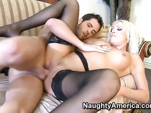 Kris Slater makes his sturdy meat pole disappear in mouth-watering Diana...