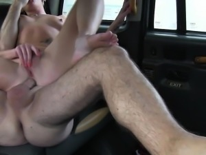 Assfucked tattooed taxi traveller rims cabbie