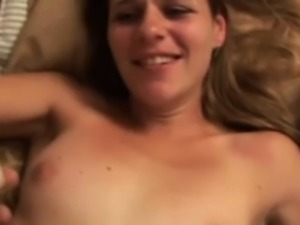 Retro skinny lady fucked POV by older guy