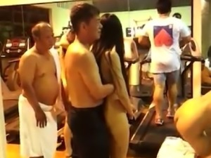 Thailand sex gym party