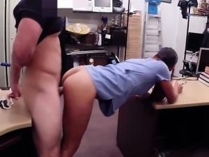 Latina pawnshop amateur cocksucks before sex