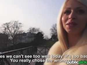 Mofos - Chloe Lacourt - Smokin French Blonde Flashes Tits