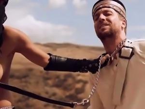Arab princess fucking her slave