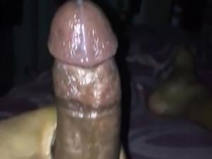 Busting a big nutt