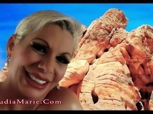 Claudia MarieSoft Fake Tits Like Cow Udders